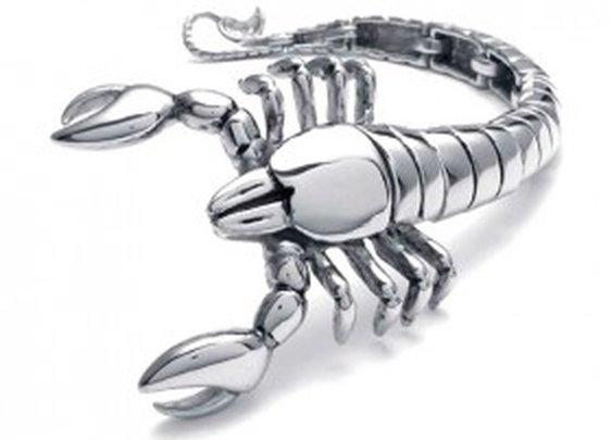 Scorpion Stainless Steel Bracelet