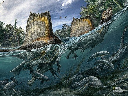 The Dinosaur That Ate Sharks For Breakfast