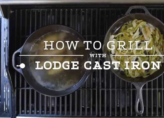 How to Grill Beer Brats with Lodge Cast Iron