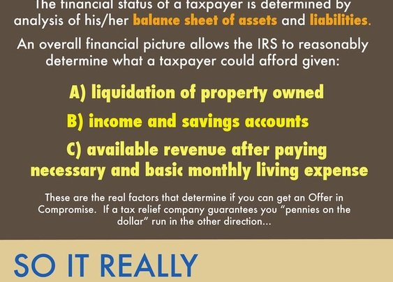 IRS Offer in Compromise Help and Form Download - Defense Tax Group