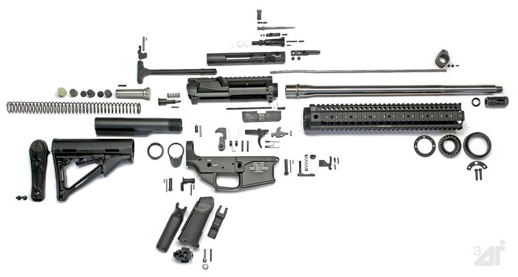 The Definitive Guide to Building an AR-15 Rifle