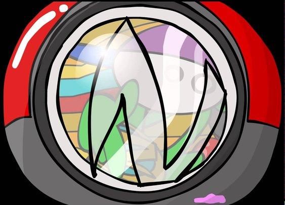 Fish Eye Lens - homestarrunner.com
