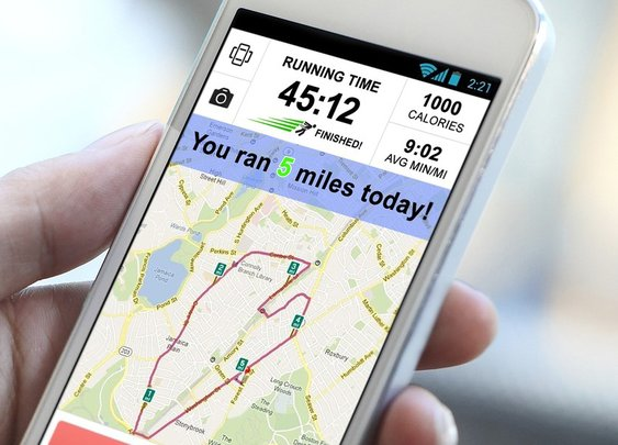 Popular New Exercise App Just Tells Users They Ran 5 Miles A Day No Matter What | The Onion - America's Finest News Source
