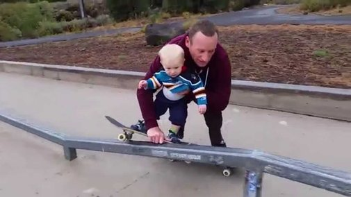 Another Candidate for Dad of the Year - YouTube