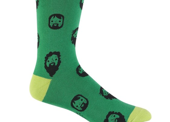 Men's Beard Socks - Crew Socks by Sock it To Me - Whimsical & Unique Gift Ideas for the Coolest Gift Givers
