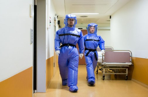 Wrapped in Plastic: Preparing for Ebola