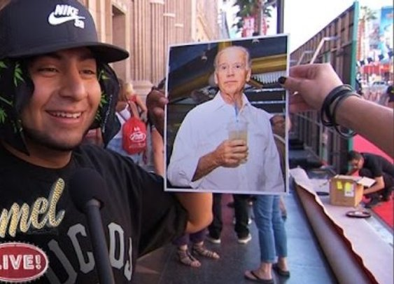 Kimmel Asks Strangers: Who Is Joe Biden?