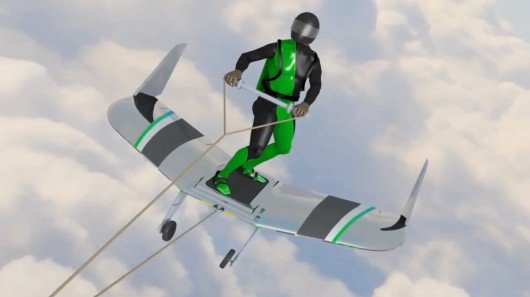 WingBoarding: An extreme aerial sport inspired by a Disney cartoon
