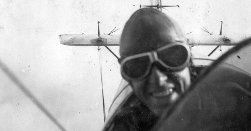 Preparing for Battle, Badass World War I Pilots Said 'Cheese'