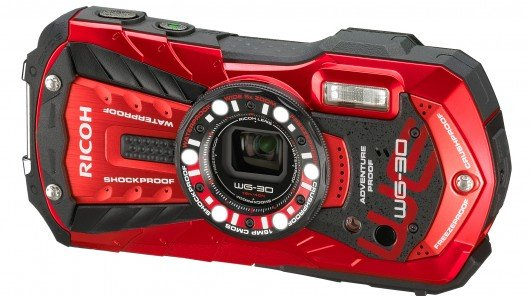 Ricoh announces WG-30 and WG-30W waterproof cameras