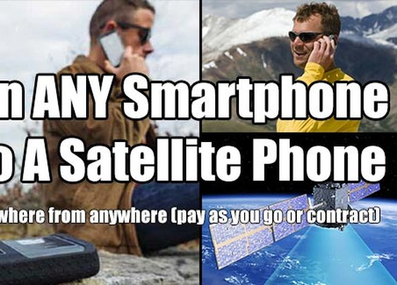 Turn Your Smartphone Into A Satellite Phone - SHTF & Prepping Central