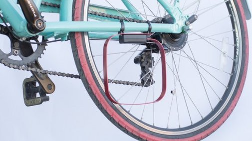 Veloloop lets bicycles trigger traffic light sensors