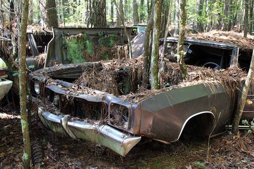 Old Car City U.S.A. is Full of Abandoned Muscle Cars and Classics