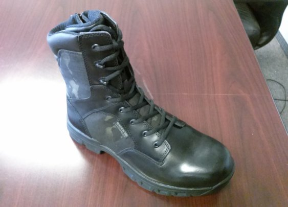 New Code 6 Boots in Black Multi-Cam from Bates Footwear | On Duty Gear Blog