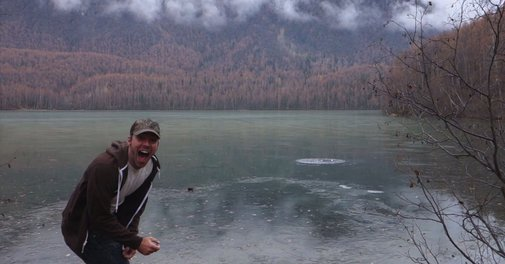 Alaskan Man Discovers Skipping Rocks on Ice Sounds Awesome
