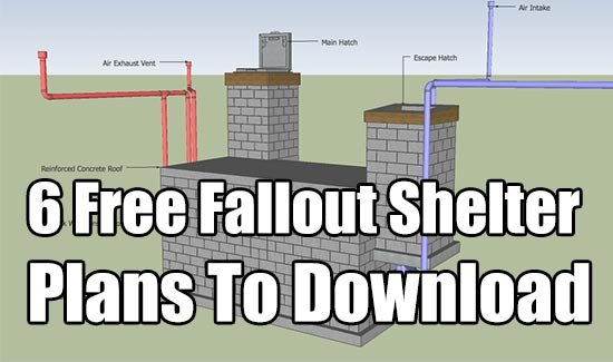 Shtf Shelter: 6 Free Fallout Shelter Plans To Download