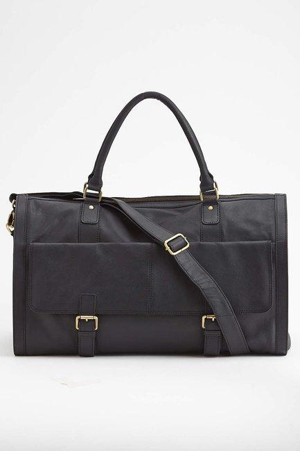 Saffiano Garment Bag Weekender - Of All Threads - Bags : JackThreads