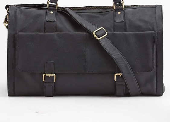 Saffiano Garment Bag Weekender - Of All Threads - Bags : JackThreads