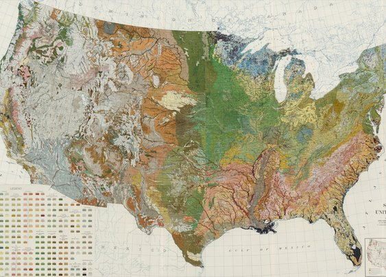 Composite: Soil Map of the United States. Atlas of American Agriculture. - David Rumsey Historical Map Collection