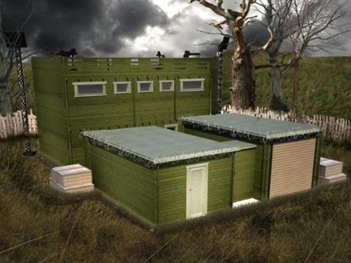 Zombie-proof log cabin has 10-year anti-zombie guarantee - CNET