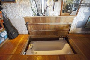 Hot Tub Hidden Under Floor | StashVault