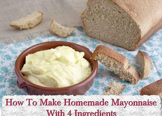 How To Make Homemade Mayonnaise - LivingGreenAndFrugally.com