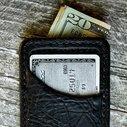 Genuine American Bison Vvault Front Pocket Wallet - Vvego