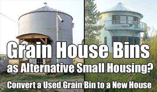 Grain House Bins as Alternative Small Housing? - SHTF & Prepping Central