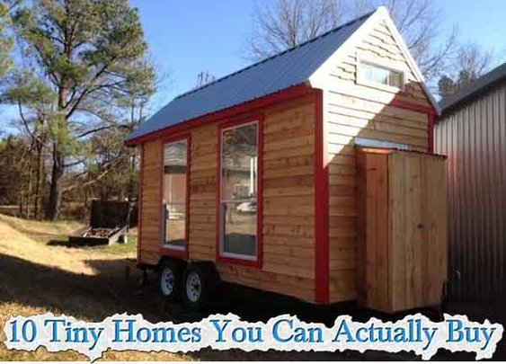 10 Tiny Homes You Can Actually Buy - LivingGreenAndFrugally.com
