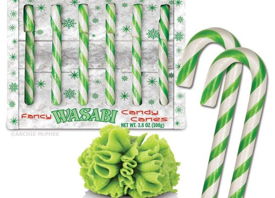 Wasabi Candy Canes by Accoutrements