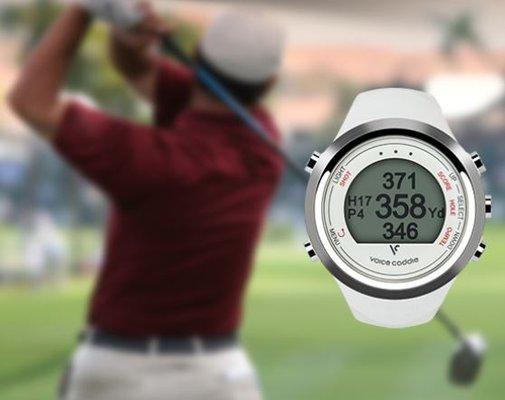 Voice Caddie T1 GPS Range Finder/Hybrid Golf Watch Golf Deal
