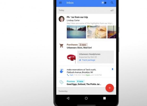 Google Inbox: Like the love child of Mailbox and Google Now