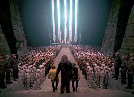 Without Music, the Final Scene in Star Wars is Kind of Awkward     «TwistedSifter