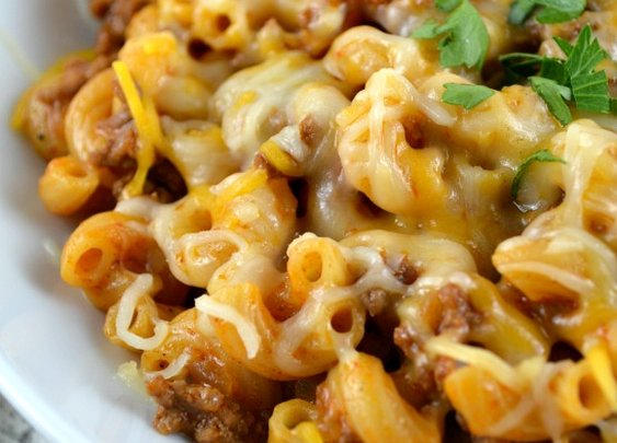 Cheesy Chili Mac