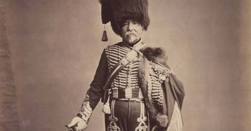 The only surviving images of veterans of the Napoleonic Wars