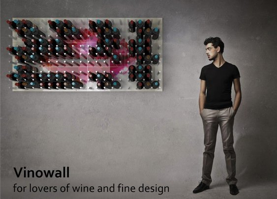 Vinowall Custom Wall-Mounted Wine Racks - MyCinsay