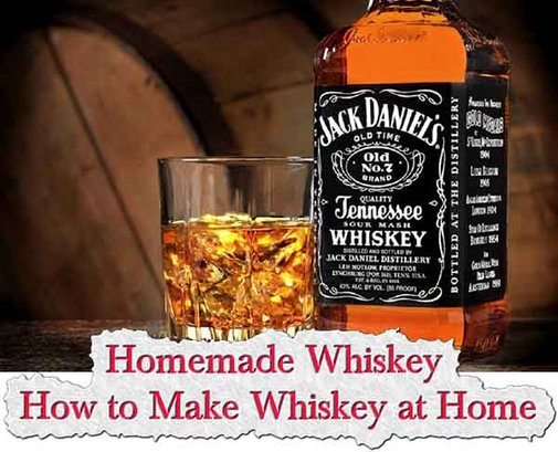 Homemade Whiskey - How to Make Whiskey at Home - LivingGreenAndFrugally.com