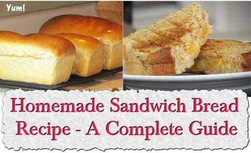 Easy Homemade Sandwich Bread Recipe - A Complete Guide - LivingGreenAndFrugally.com