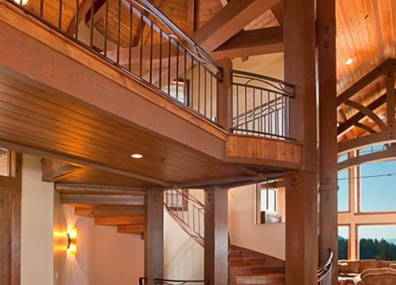 Timber Frame vs. Timber Post and Beam Construction