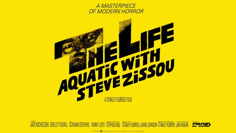 The Life Aquatic trailer in the style of Kubrick's The Shining