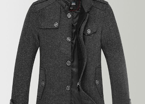 Men's Military Jacket in Style 2014