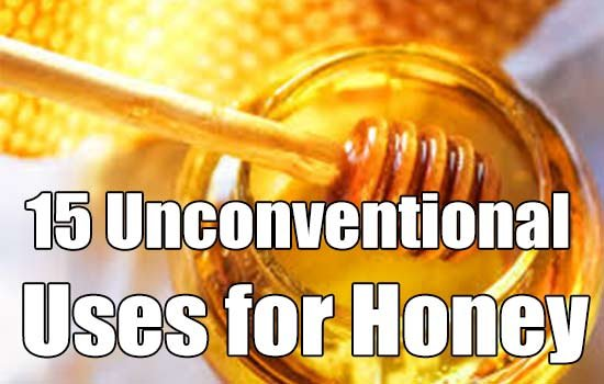 15 Unconventional Uses for Honey - SHTF & Prepping Central