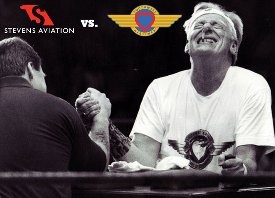 How Southwest Airlines Settled a Legal Dispute with Arm Wrestling