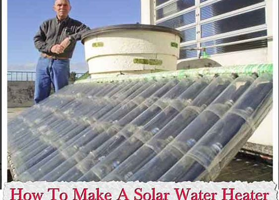How To Make A Solar Water Heater From Plastic Bottles - LivingGreenAndFrugally.com