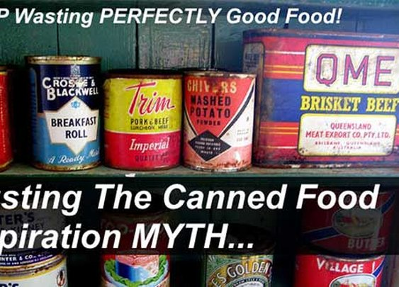 Busting the Canned Food Expiration Date MYTH - SHTF & Prepping Central