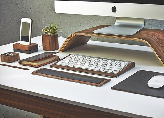 Grovemade Walnut Desk Collection