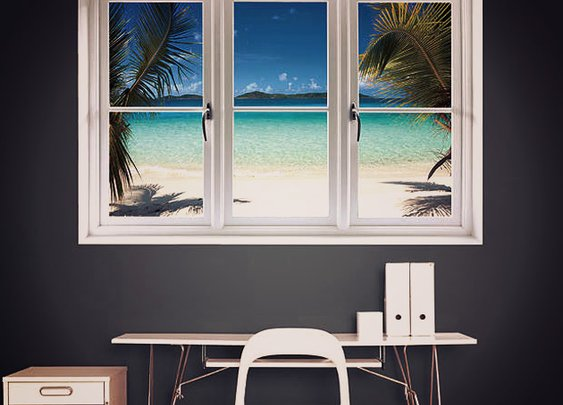 Beach Instant Window