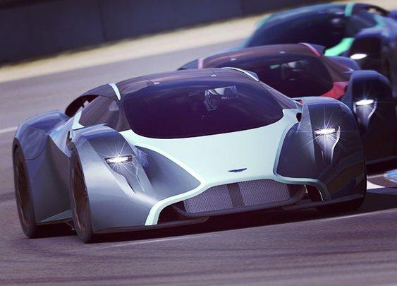 Aston Martin DP-100 Vision
