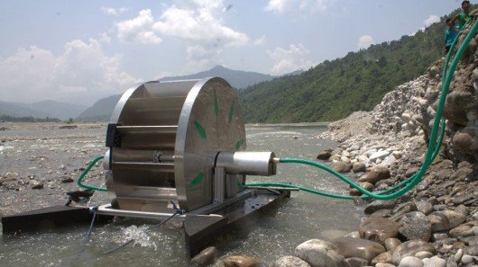 Barsha pump provides irrigation water, but doesn't need fuel