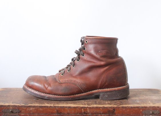 Chippewa Boot Co. - Tan Renegade Service boot  — 1924